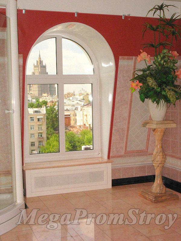 Как сделать арочное окно из пвх - ppccabfiles.ру :: полезные.